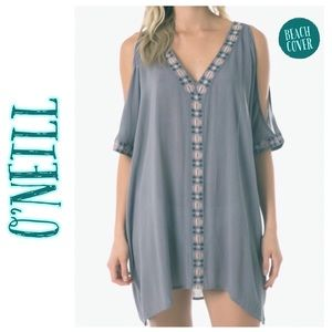 O'NEILL Frances Cold-Shoulder Swimsuit Cover-Up